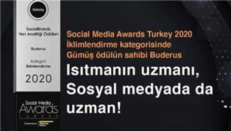 Buderus'a Social Media Awards'tan ödül!