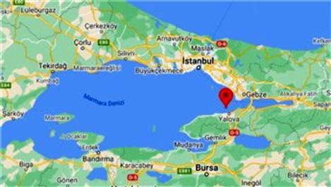 Marmara Denizi'nde 3.0 büyüklüğünde deprem!