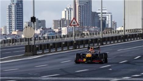 15 Temmuz Şehitler Köprüsü'nde Formula 1 rüzgarı!