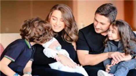Sabri Sarıoğlu, ailesiyle birlikte Aqua Florya'da!
