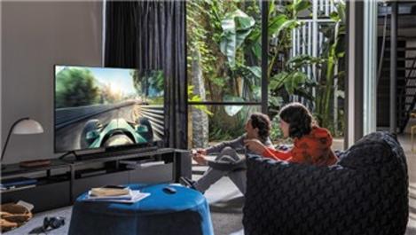 Samsung Q70T QLED 4K UHD Smart TV daha fazla oyun kazanın!