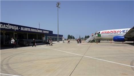 Gazipaşa-Alanya Havalimanı pandemi sertifikası aldı!