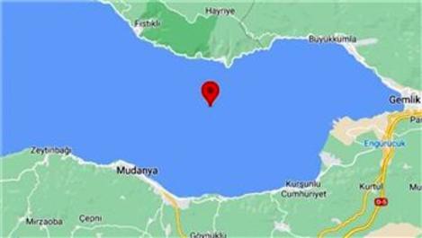 Bursa Gemlik'te 3.5 büyüklüğünde deprem!
