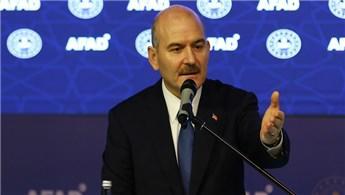"""Bakan Soylu """"Türkiye'nin afete müdahale kapasitesi yüksek"""""""