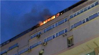 Şişli Perpa İş Merkezi'nde korkutan yangın