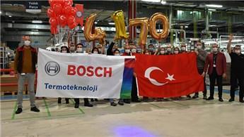 Bosch Termoteknik'ten günlük kombi üretiminde rekor!
