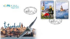İstanbul'un güzellikleri PTT pullarında!