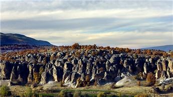 Kilistra Antik Kenti Kapadokya'yı andırıyor