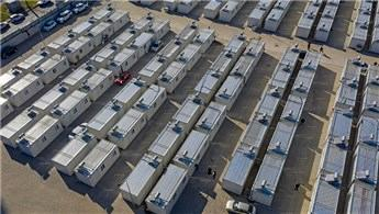 Depremzedeler konteyner kentte yeni yaşamlarına başladı