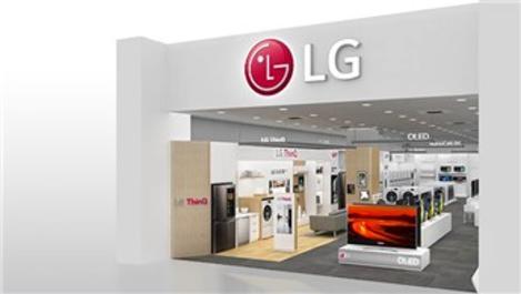 Ankara'nın en büyük LG Brand Shop'u Kentpark AVM'de açıldı