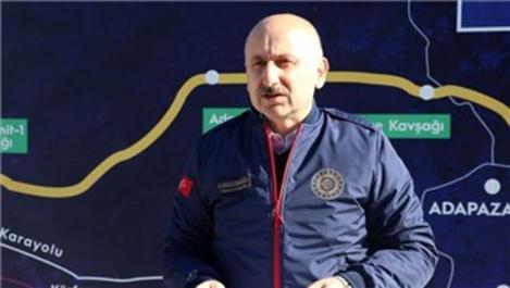 Bakan Karaismailoğlu, Kuzey Marmara Otoyolu'nu inceledi!