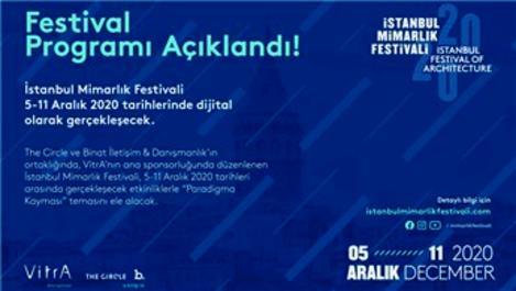 İstanbul Mimarlık Festivali 5-11 Aralık'ta!
