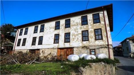 Düzce Belediyesi'nden tarihi evlere restorasyon hamlesi!