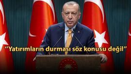 Cumhurbaşkanı ''Kanal İstanbul ihale aşamasına geldi''