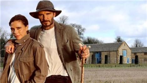 Beckham çifti evlerinin bahçesine ada yaptıracak!