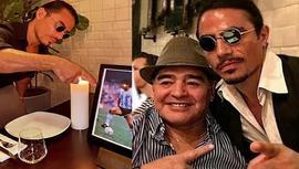 Nusret, Maradona'nın masasını kalıcı olarak rezerve etti