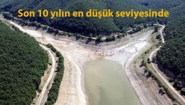 İstanbul'un barajlarında su seviyesi %25'in altına indi