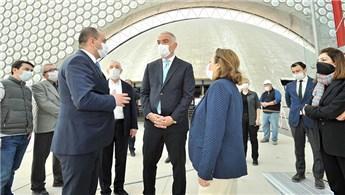Bakan Ersoy, yeni CSO binasını tanıttı