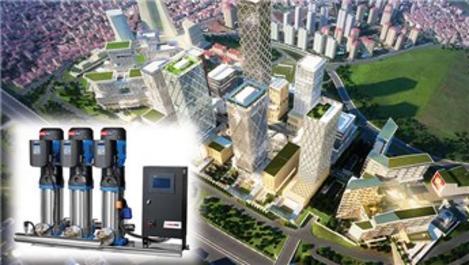 Masdaf, hidrofor çözümleriyle İstanbul Finans Merkezi'nde!