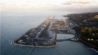 Rize-Artvin Havalimanı'nda çalışmaların yüzde 85'i tamamlandı