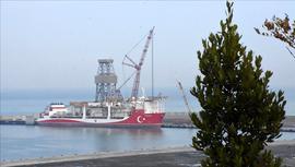 Kanuni sondaj gemisinin kule dikimi gerçekleşti!