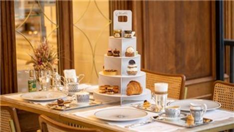 Kandilli Pastanesi'nden Royal Afternoon Tea Box ile evlere servis