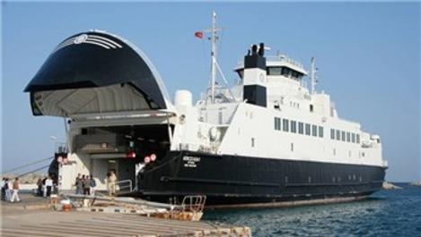 Kabatepe-Gökçeada hattında feribot seferleri iptal edildi