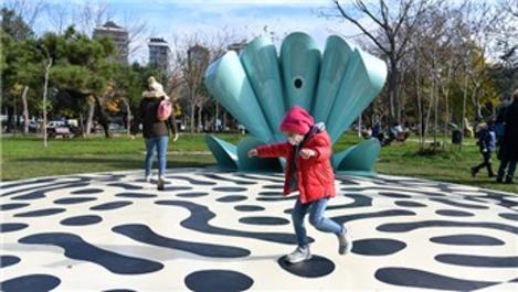 Kalamış Parkı'na dans pisti yapıldı!