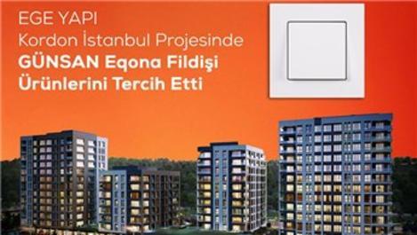 Kordon İstanbul, Günsan Eqona serisini tercih etti