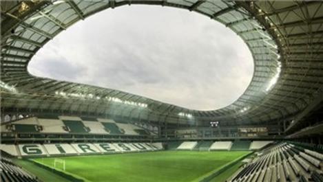 Giresun Çotanak Stadyumu'nda sona gelindi!