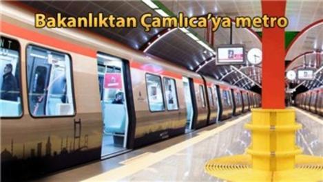 Büyük Çamlıca Metrosu'nu bakanlık yapacak!