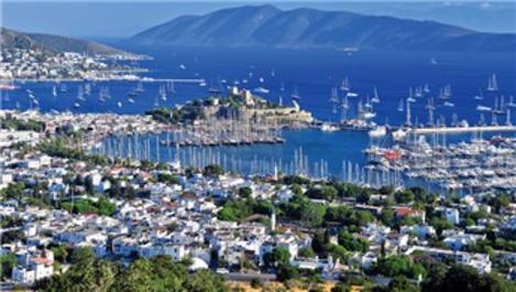 Bodrum'daki konut satışları Türkiye ortalamasını geçti