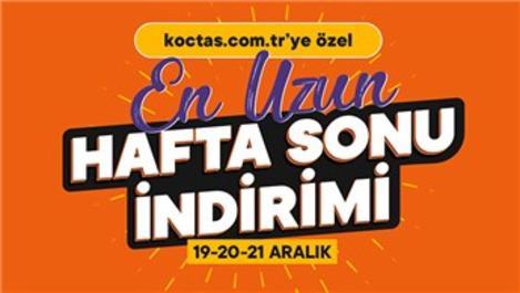 Koçtaş'tan 'En Uzun Hafta Sonu' indirim kampanyası!
