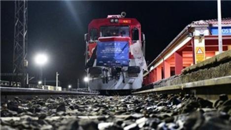 Çin ihracat treni kesintisiz yolculuğunu tamamladı