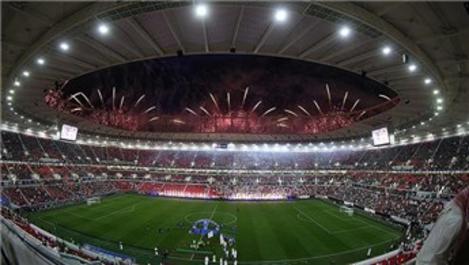 Dünya Kupası'nın simgesi er-Rayyan stadyumu açıldı!