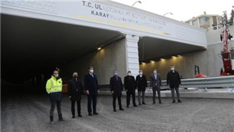 Konya Yolu Alt Geçidi 26 Ocak'ta açılıyor