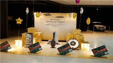 Kuzu Effect AVM'den 100 kişiye 100 büyük hediye!