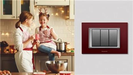 Panasonic Life'tan kırmızı cam elektrik anahtarı!
