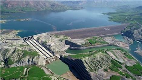 Ilısu Barajı tam kapasite elektrik üretimine başladı