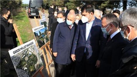 Bakan Kurum, Gebze Millet Bahçesi'ni inceledi