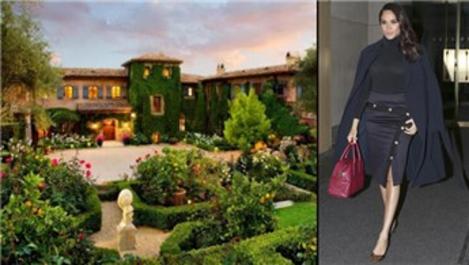Meghan Markle, Hollywood'a yakın olan evi tercih etti!