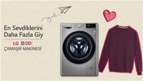 LG çamaşır makineleri giysilerinizin ömrünü uzatıyor