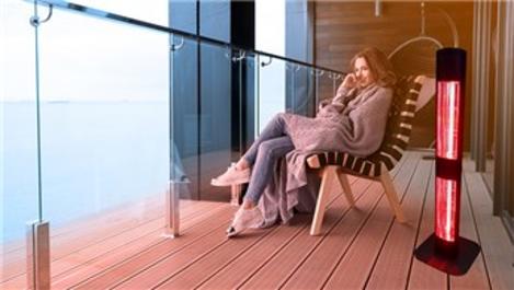 Goldsun Mobile ısıtıcılarla balkon keyfine devam!