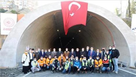 Rize'nin 70 yıllık hayali Salarha Tüneli açıldı!