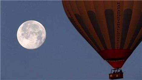 Kapadokya'da balonlardan görsel şölen!