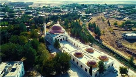 Şanlıurfa'daki Eyyüp Nebi Camisi ibadete hazır