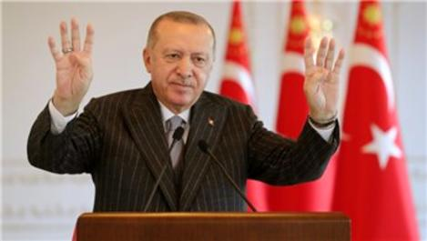 Başkan Erdoğan, Kömürhan Köprüsü'nün açılışını yaptı