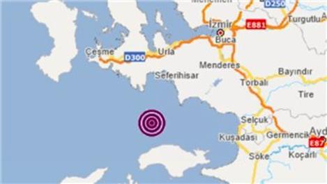 İzmir, 4.0 büyüklüğünde depremle salladı!
