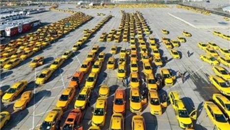 Taksilerin fiyat güncelleme kuyruğu kilometreleri buldu!