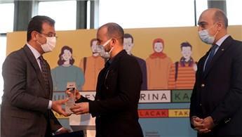 İBB'nin meydan projelerinde birinciler ödüllerini aldı